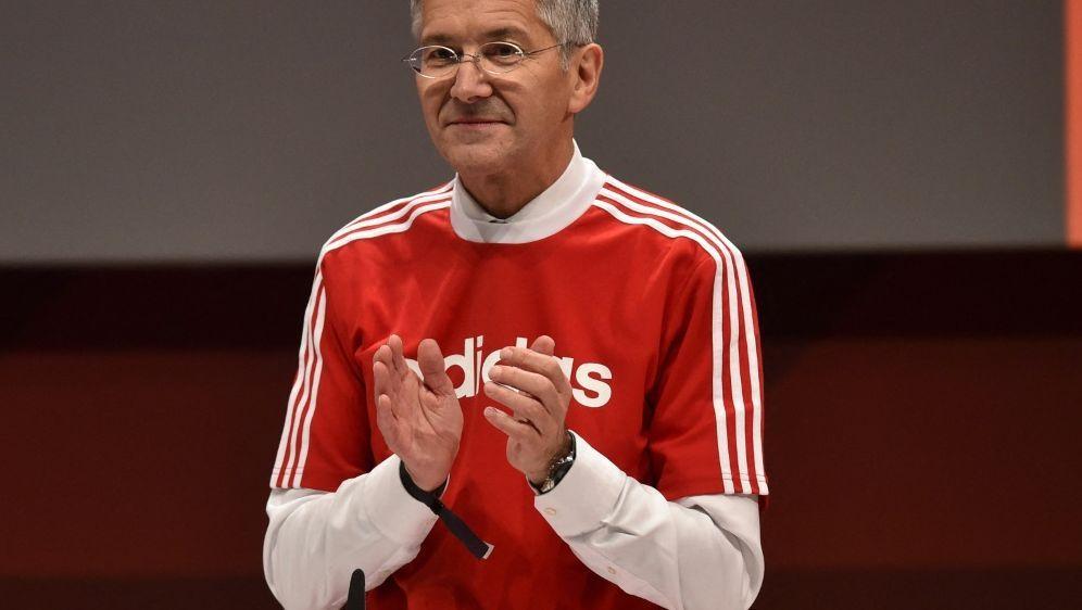 Präsident Herbert Hainer von Bayern München - Bildquelle: AFPSIDCHRISTOF STACHE