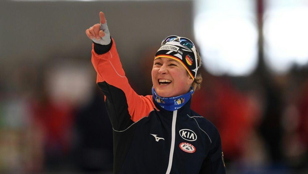 Zwei weitere Medaillen für Claudia Pechstein - Bildquelle: AFPSIDCHRISTOF STACHE