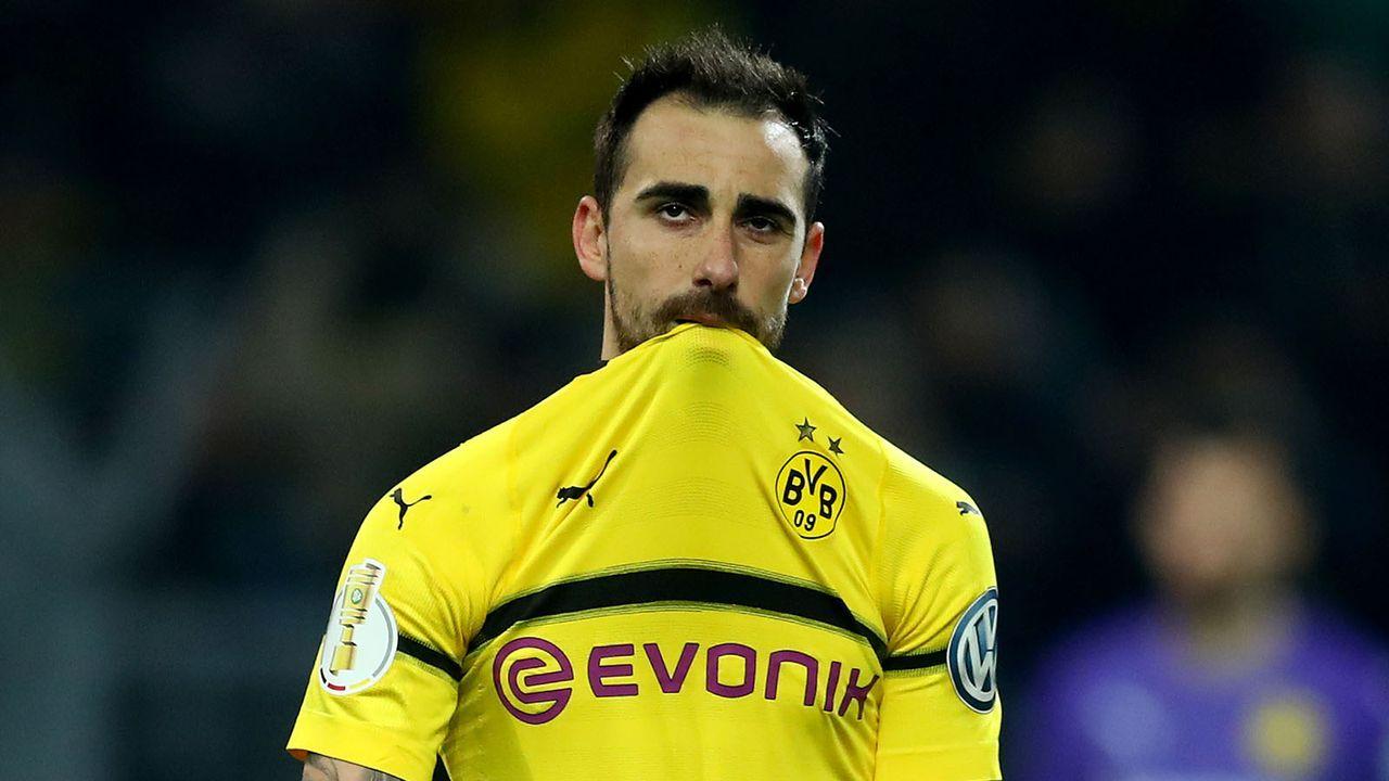 Verlierer: Paco Alcacer (Borussia Dortmund) - Bildquelle: 2019 Getty Images