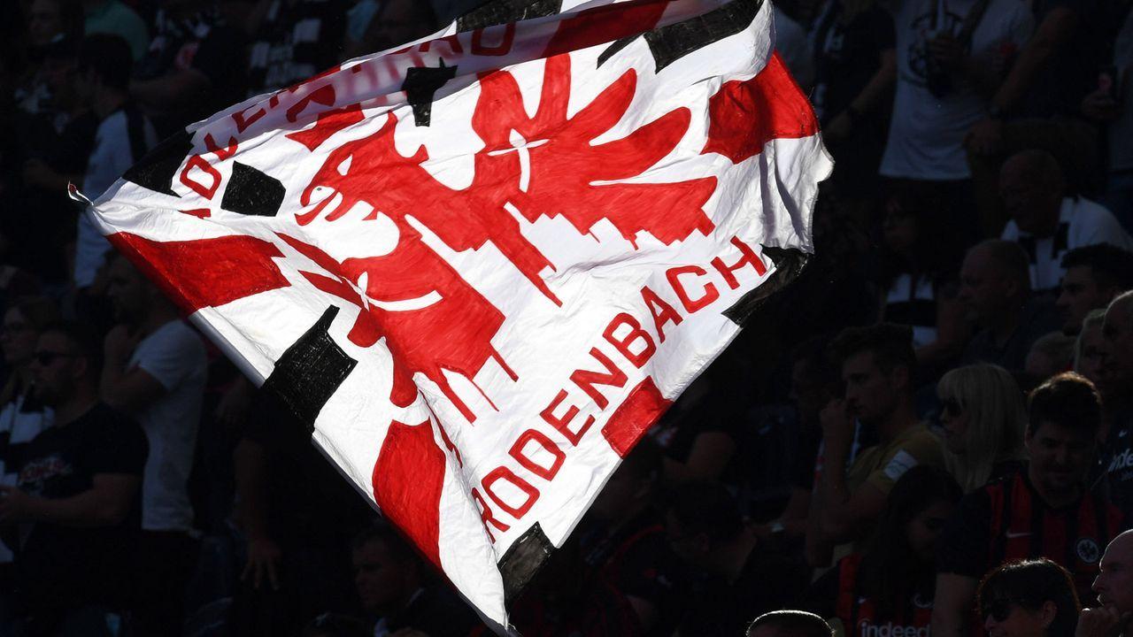 Fan-Choreographien von Eintracht Frankfurt in der Europa League - Bildquelle: imago