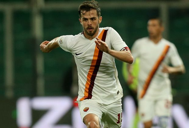 Platz 2: Miralem Pjanic (AS Rom) - Bildquelle: 2015 Getty Images