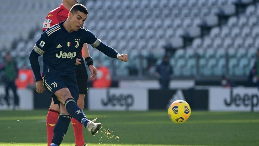 Ronaldo und Juventus machten Punkte gut - Bildquelle: AFPSIDMIGUEL MEDINA