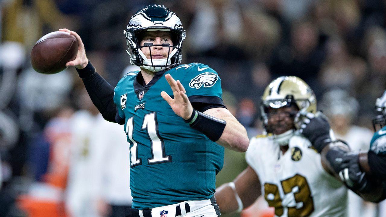Carson Wentz (Philadelphia Eagles)  - Bildquelle: 2018 Wesley Hitt