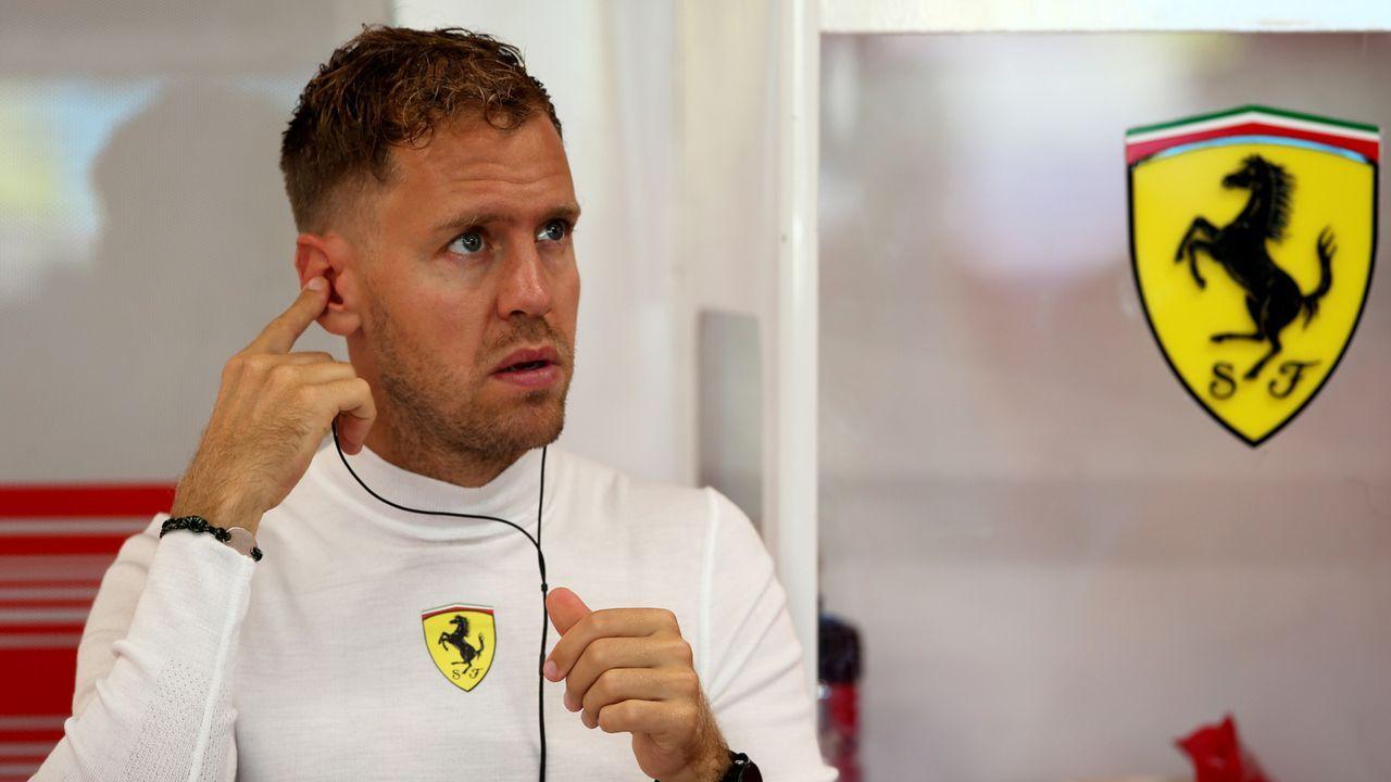 Sebastian Vettel (Scuderia Ferrari) - Bildquelle: getty images