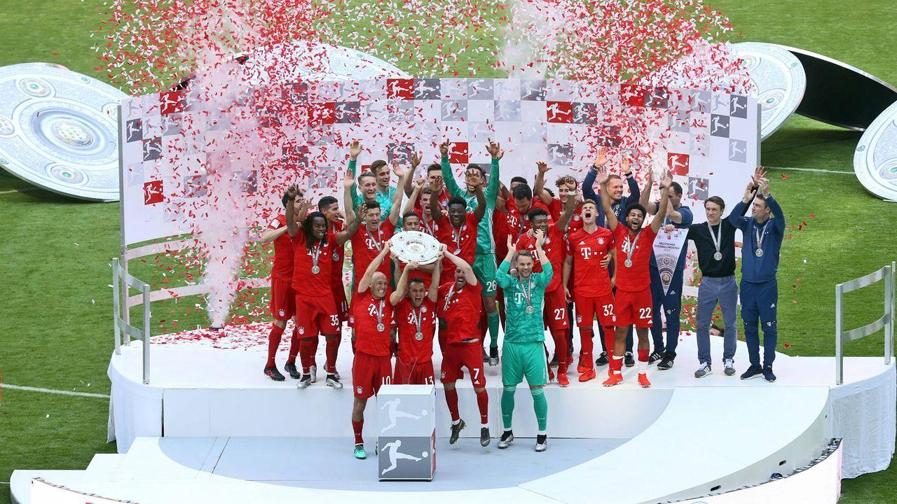 Platz 1: FC Bayern München - Bildquelle: imago images / Bernd Müller