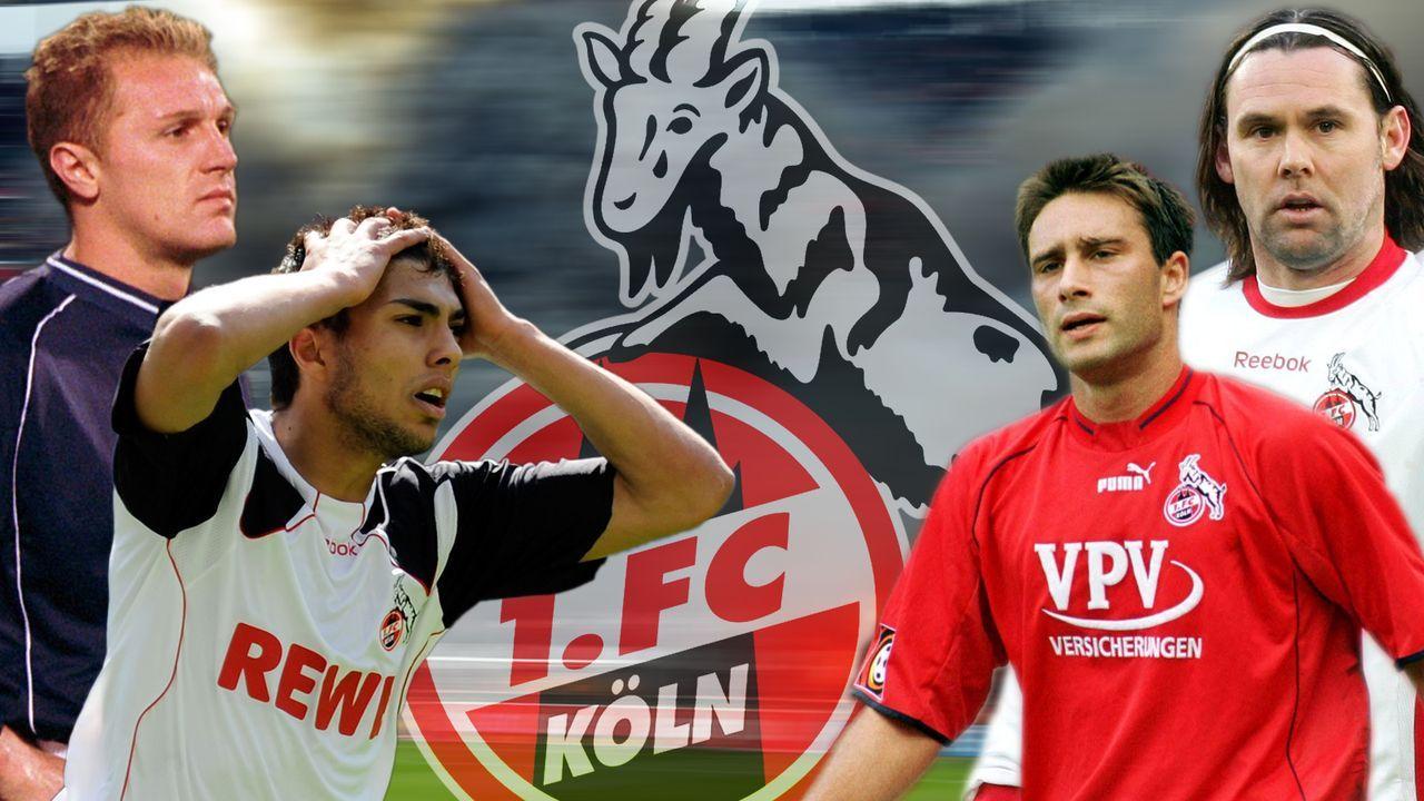 Die Flop-Elf des 1. FC Köln seit dem Jahr 2000  - Bildquelle: imago sportfotodienst
