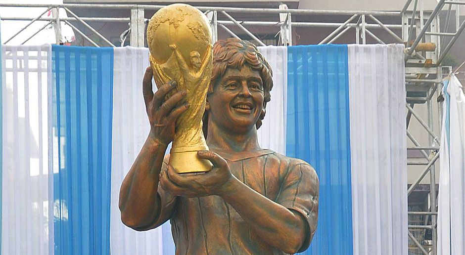 Diego Maradona - Bildquelle: imago/Pacific Press Agency