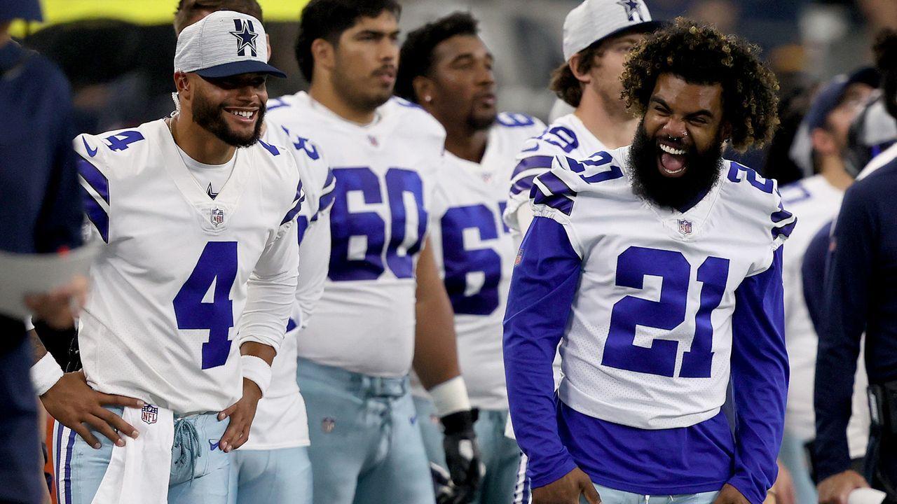 Dallas Cowboys - Wie viel Power steckt noch in Dak und Zeke? - Bildquelle: 2021 Getty Images