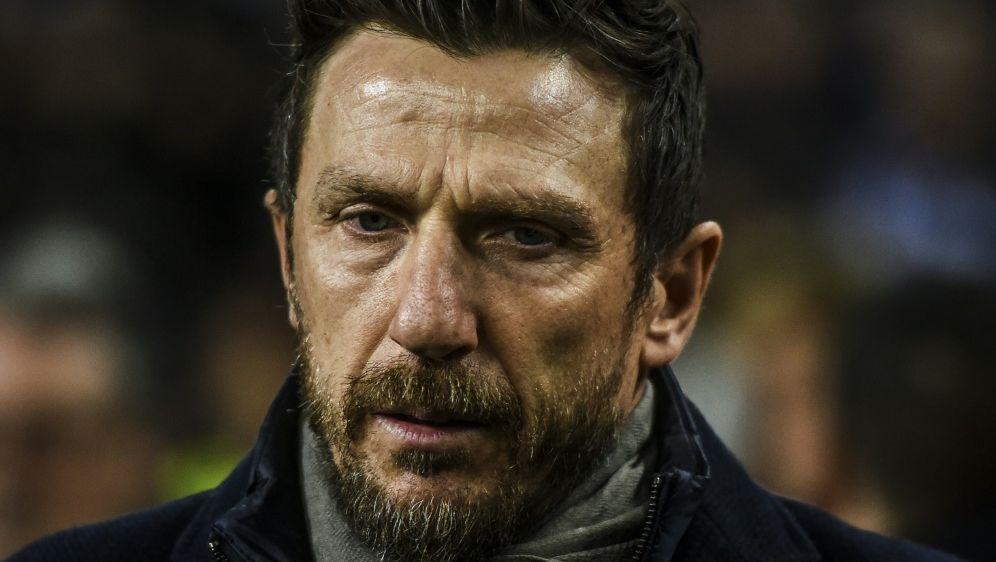 Di Francesco wurde als Trainer der AS Roma entlassen - Bildquelle: AFPSIDPATRICIA DE MELO MOREIRA
