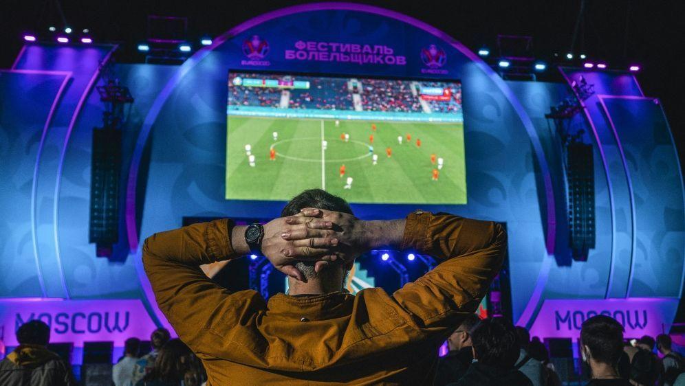 Die Fanzone in Moskau wird geschlossen - Bildquelle: AFPSIDDIMITAR DILKOFF