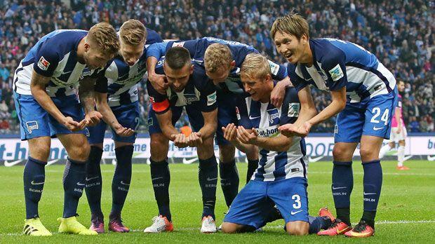 Hertha egalisiert Rekord - Bildquelle: imago/MIS
