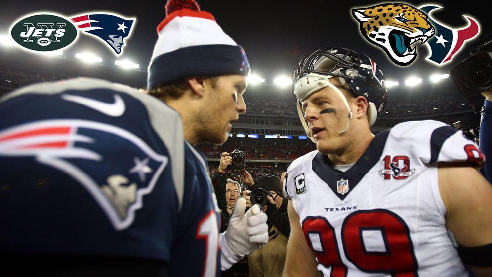 Ihr entscheidet auf Instagram: Patriots vs Jets oder Texans vs Jaguars! - Bildquelle: Getty Images