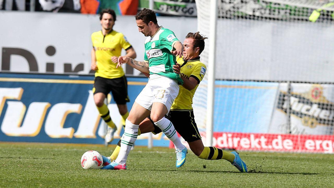 SpVgg Greuther Fürth – Borussia Dortmund (Mo. 20:45 Uhr)   - Bildquelle: imago sportfotodienst