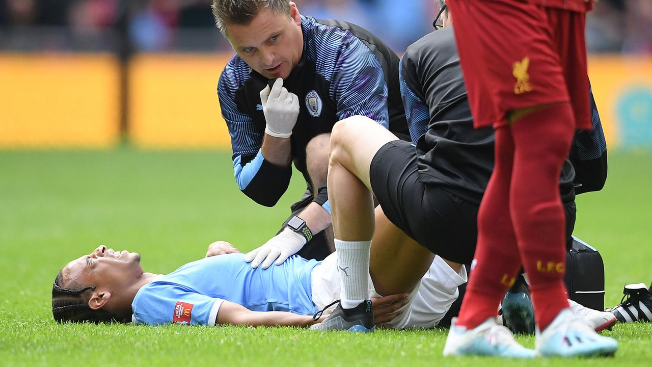 Die Verletzung - Bildquelle: Getty