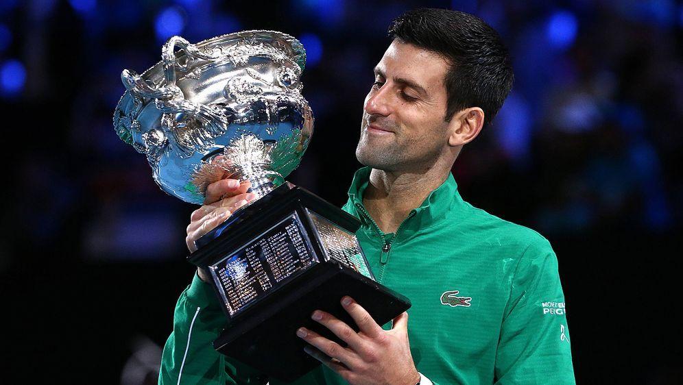 Novak Djokovic holte sich in Melbourne seinen insgesamt 17. Grand-Slam-Titel... - Bildquelle: imago