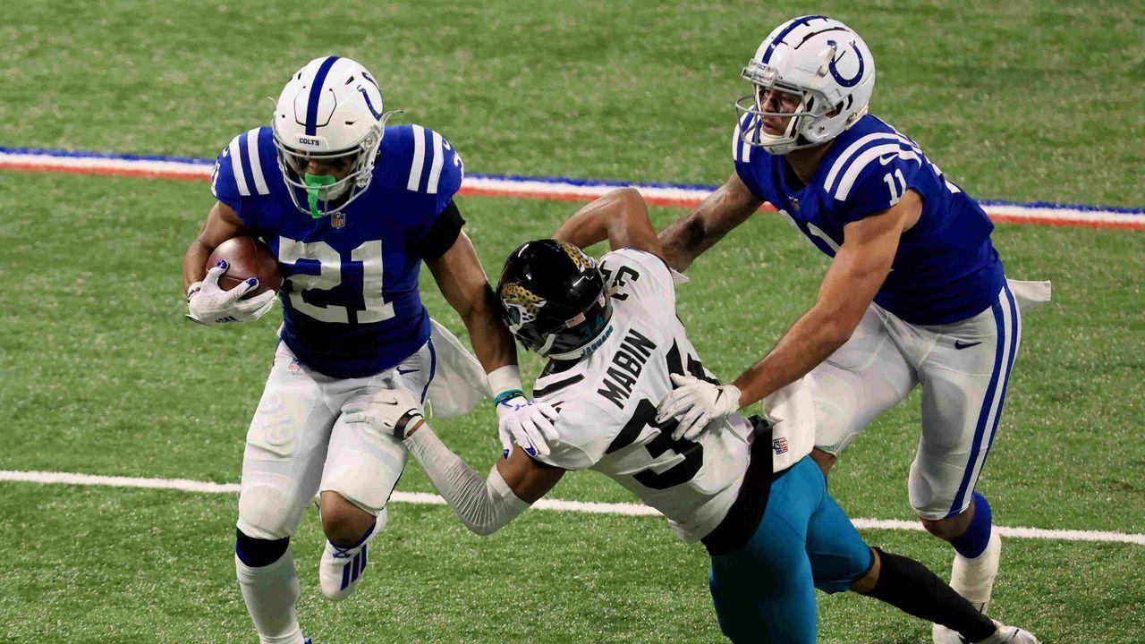 6. Platz: Indianapolis Colts - 61,5 Prozent - Bildquelle: getty