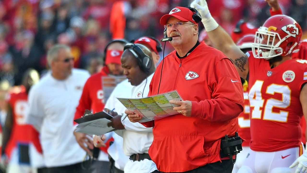 Eric Bienemy (Offensive Coordinator Kansas City Chiefs) - Bildquelle: 2017 Getty Images
