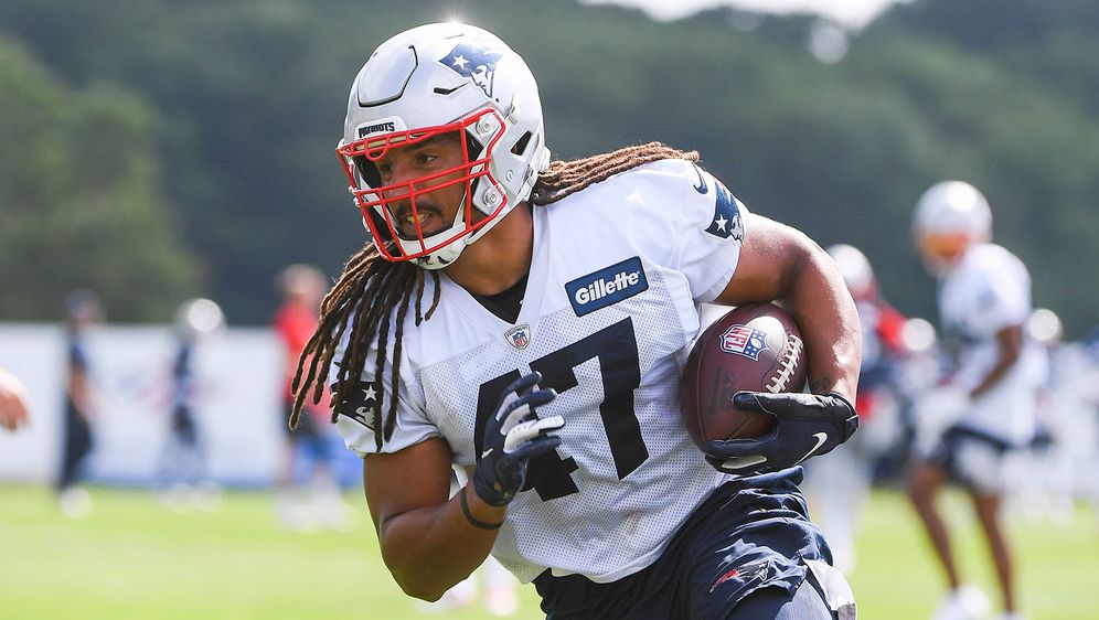 Fullback Jakob Johnson steht erneut im Roster der Patriots. - Bildquelle: imago images/ZUMA Wire