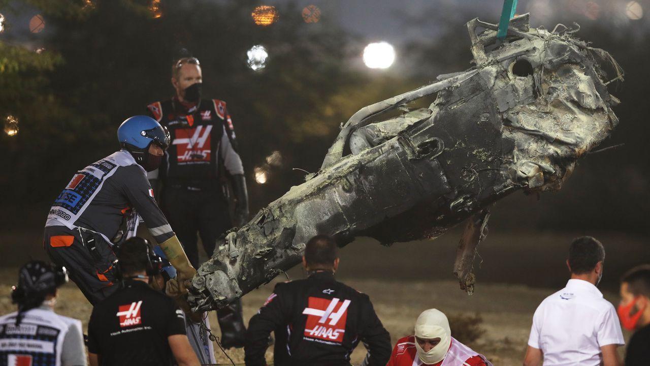 Horror-Unfall in der Formel 1 - Bildquelle: 2020 Getty Images