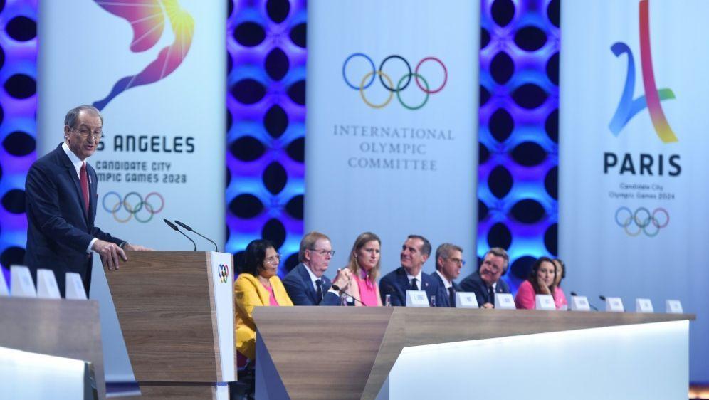 Das Olympia-Budget für Paris 2024 wird geprüft - Bildquelle: AFPSIDMartin BERNETTI