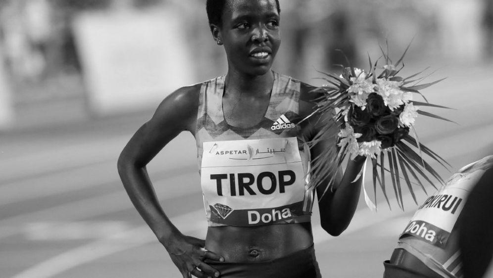 Agnes Jebet Tirop wurde am Mittwoch tot aufgefunden - Bildquelle: AFP/SID/KARIM JAAFAR