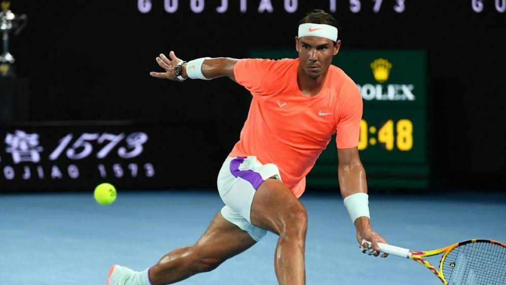 Nadal kämpft mit Rückenproblemen - Bildquelle: AFPSIDWILLIAM WEST