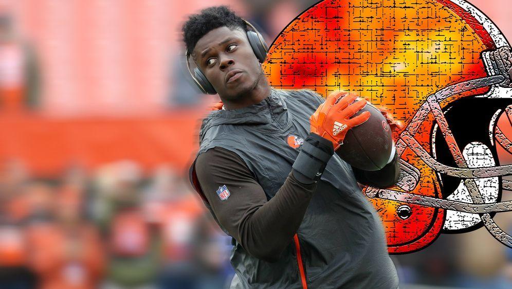 David Njoku will die Cleveland Browns verlassen - Bildquelle: imago/Icon SMI