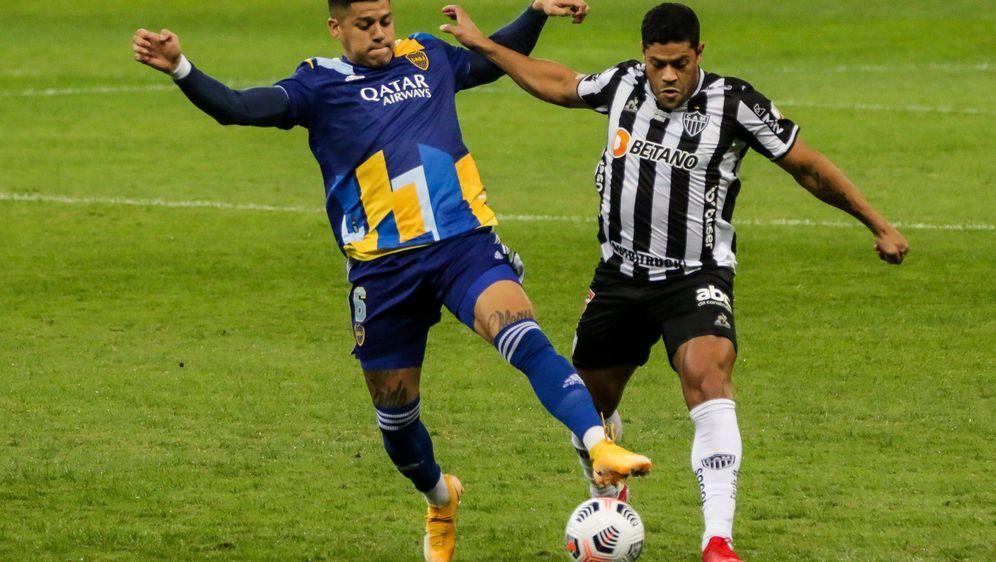 Hulk (re.) und Atletico Mineiro setzte sich gegen Boca Juniors durch - Bildquelle: imago