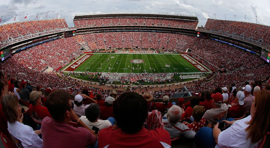 5. Alabama Crimson Tide - Bildquelle: 2015 Getty Images