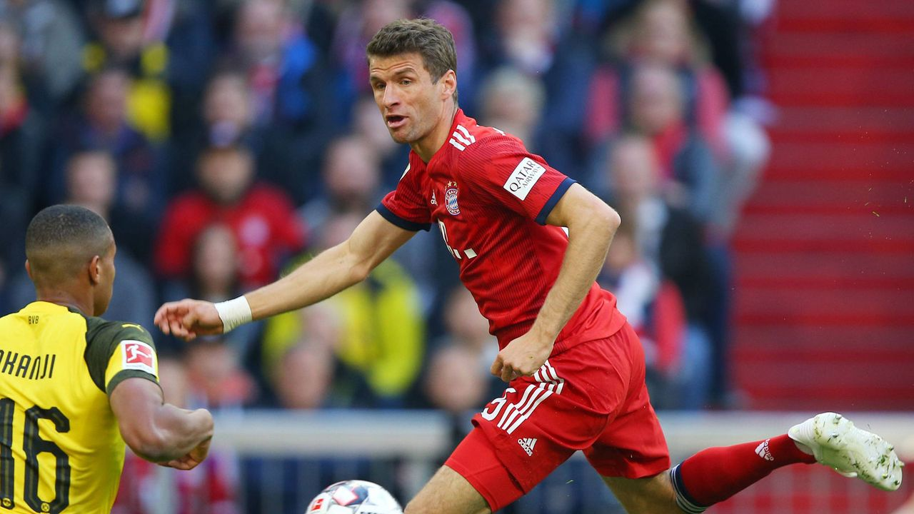 Thomas Müller (FC Bayern) - Bildquelle: imago