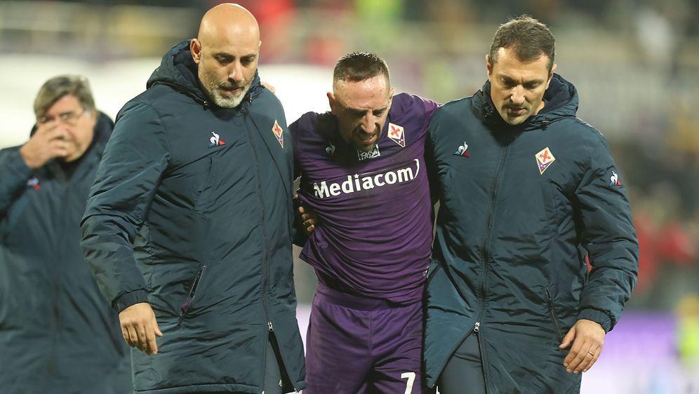 Franck Ribery wird operiert - Bildquelle: AFPSIDMIGUEL MEDINA