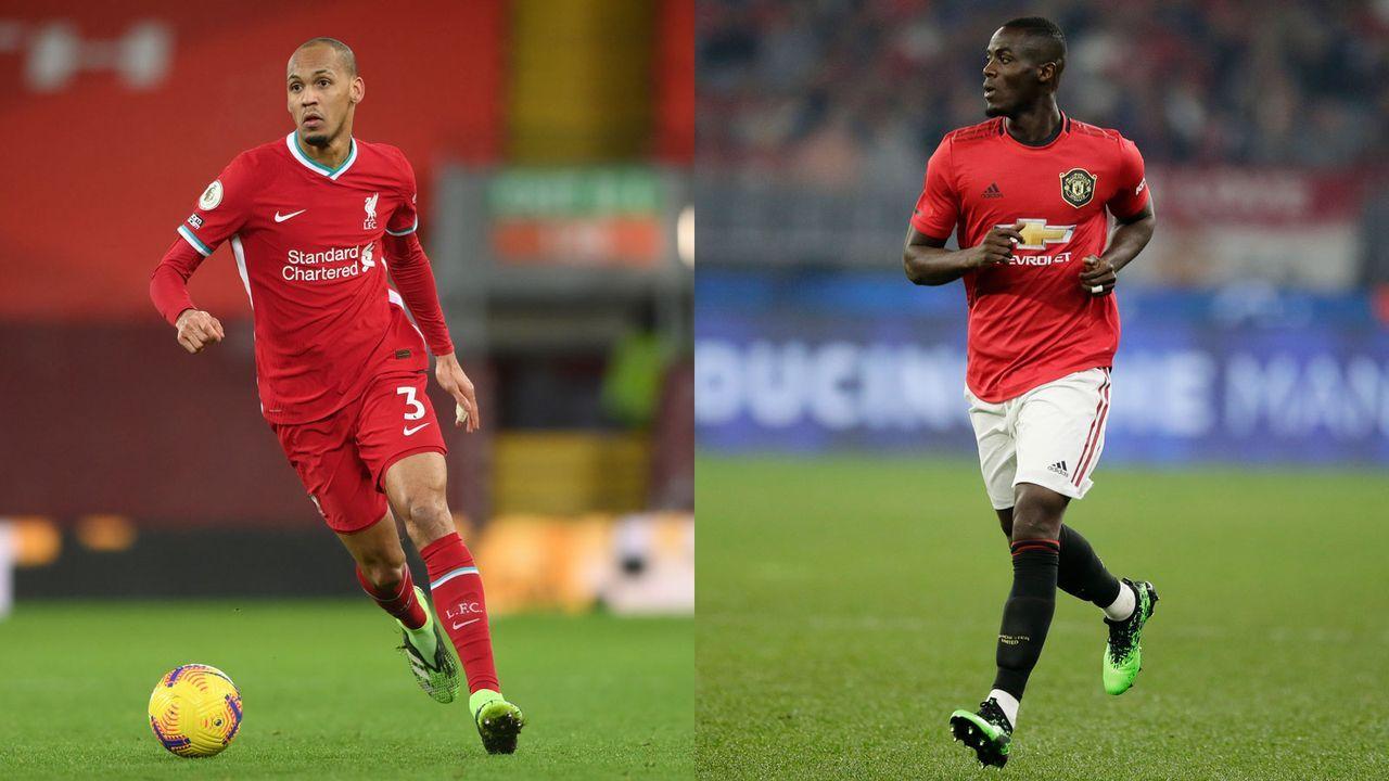 Innenverteidigung: Fabinho versus Eric Bailly - Bildquelle: Getty Images
