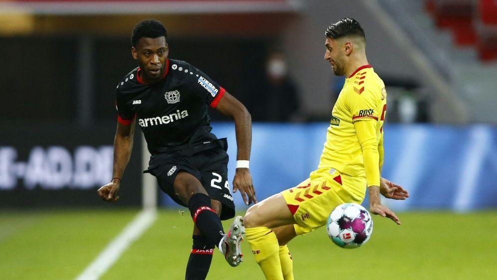Wird Leverkusen lange fehlen: Timothy Fosu-Mensah - Bildquelle: AFPSIDTHILO SCHMUELGEN