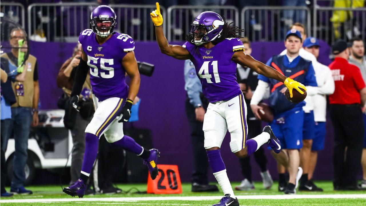 Minnesota Vikings (6-9 zum Zeitpunkt des Ausscheidens) - Bildquelle: Imago