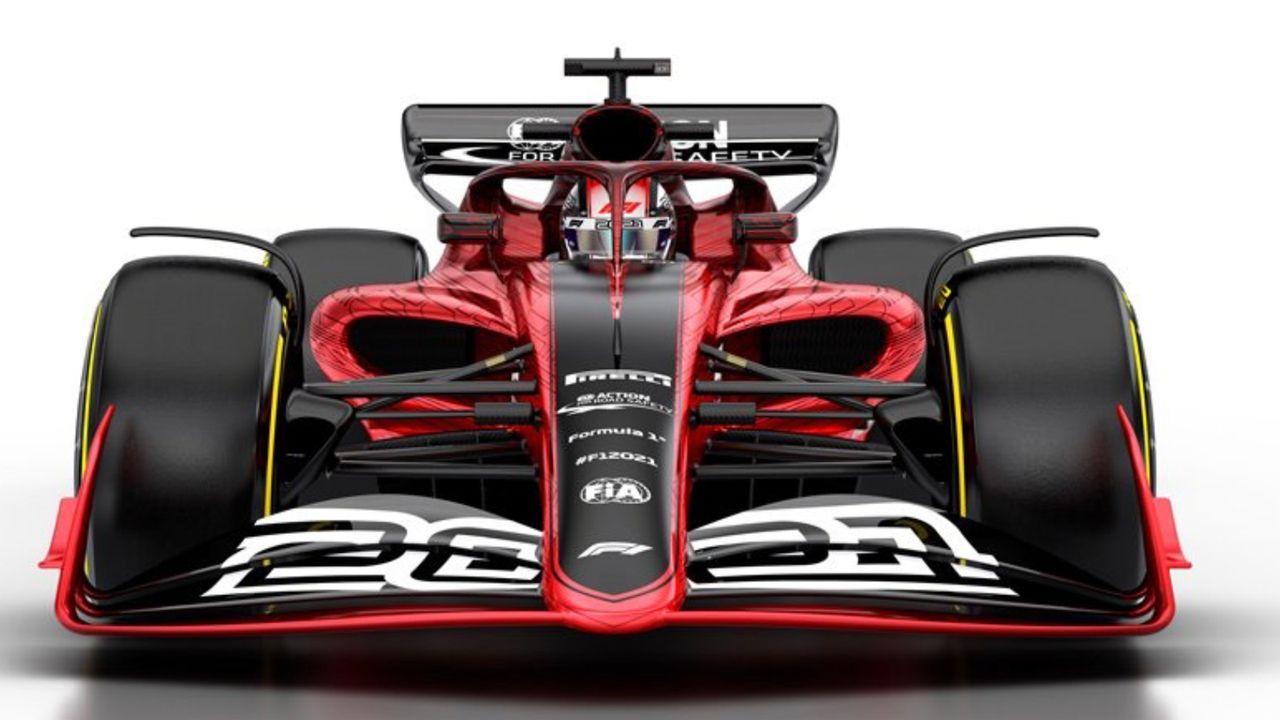 Autos entrümpeln - Bildquelle: Twitter/F1