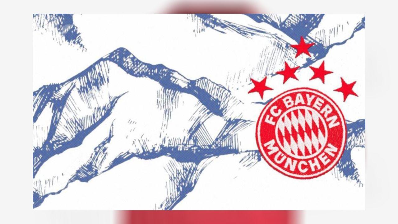 FC Bayern: Mögliches Ausweichtrikot im Alpenstyle - Bildquelle: Footy Headlines