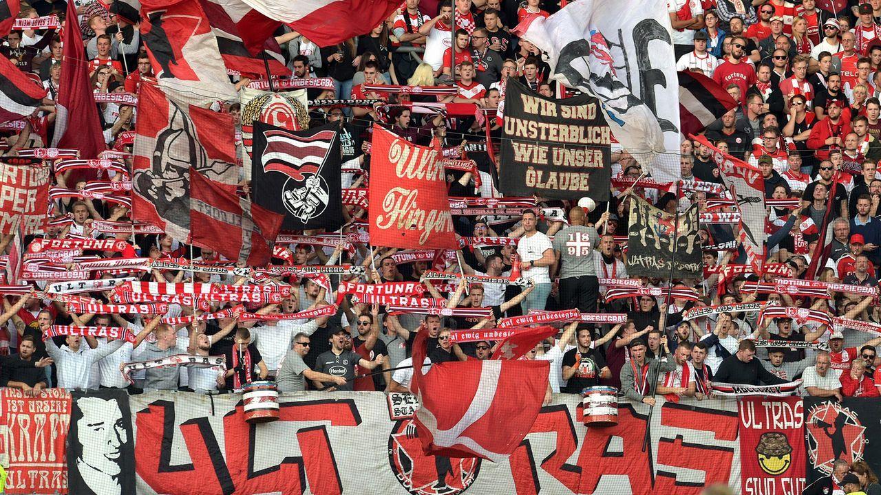 Fortuna Düsseldorf - Bildquelle: imago images/pmk