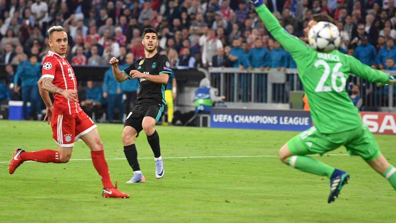2017/2018: FC Bayern gegen Real Madrid (Halbfinale) - Bildquelle: imago