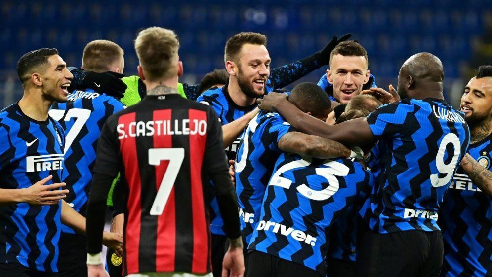 Coppa Italia: Inter Mailand erreicht das Halbfinale - Bildquelle: AFPSIDMIGUEL MEDINA