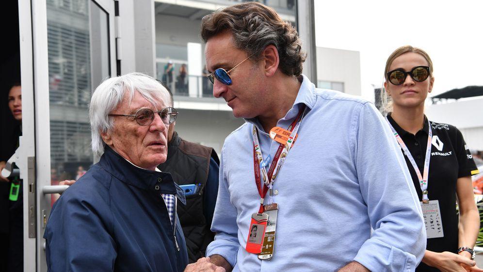 Formel-E-Gründer Alejandro Agag (rechts) hätte gerne mit dem ehemaligen F1-G... - Bildquelle: imago images/Motorsport Images