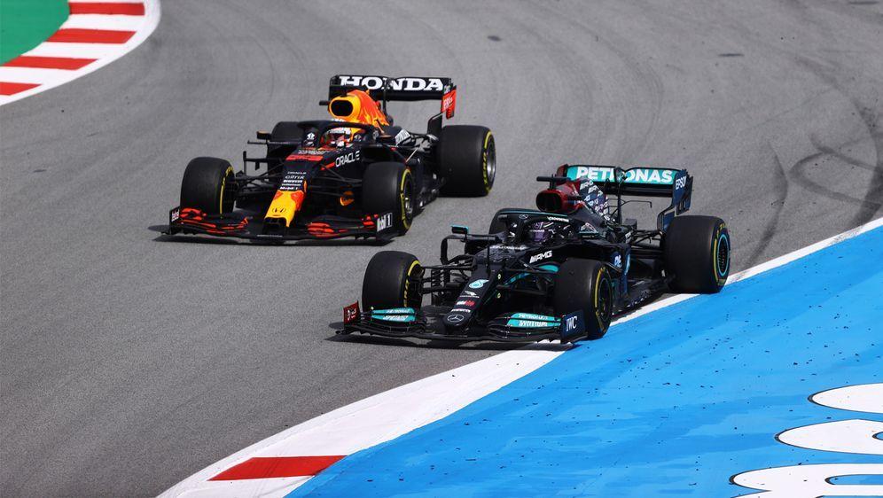 Lewis Hamilton gewinnt den Großen Preis von Spanien - Bildquelle: Getty Images