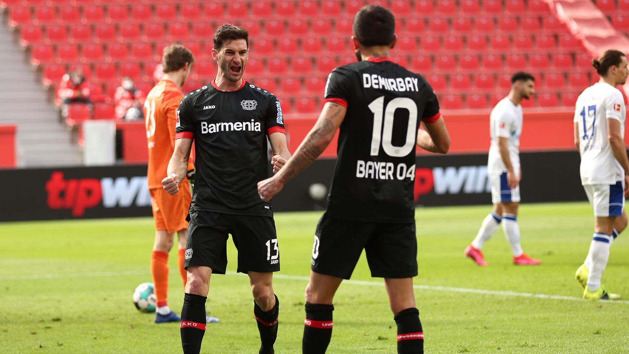 Bayer 04 Leverkusen - Bildquelle: 2021 Getty Images