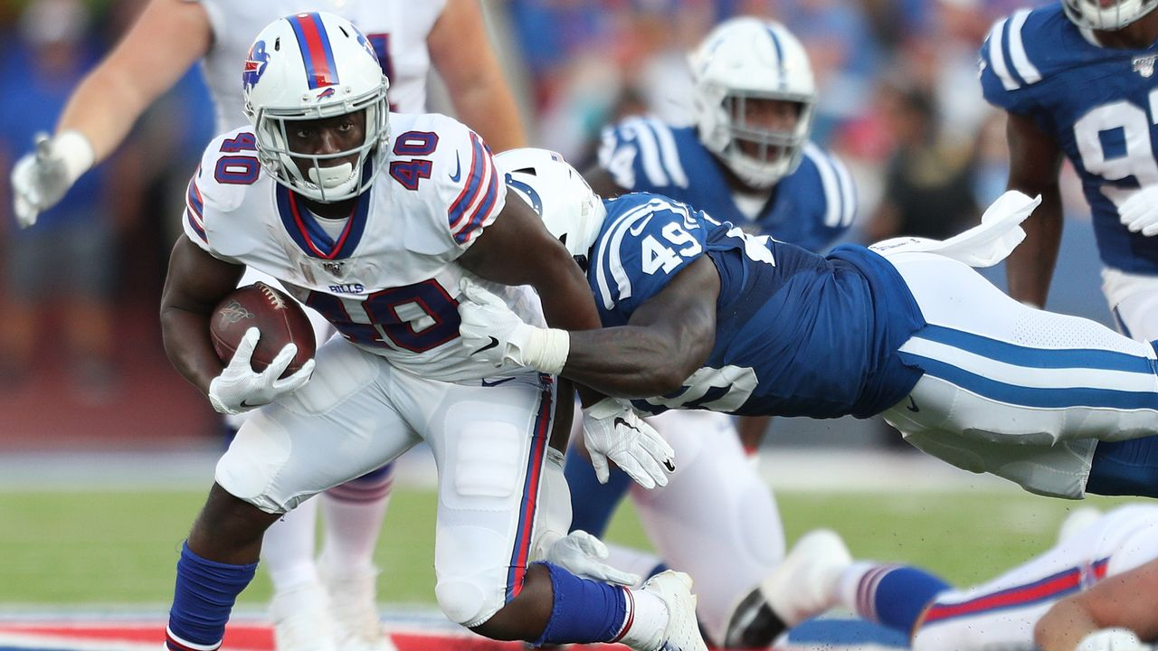 AFC Wild Card Round #7 Colts at #2 Bills 24:27 - Bildquelle: 2019 Getty Images
