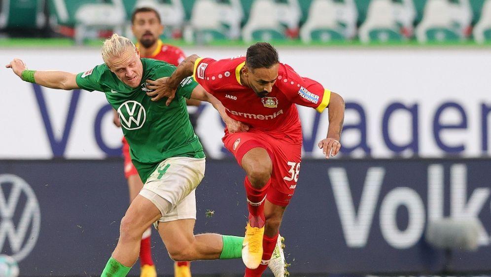 Keine Tore zwischen Wolfsburg und Leverkusen - Bildquelle: FIROFIROSID