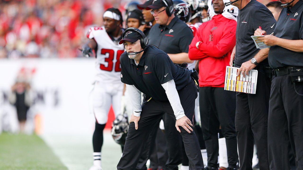 27. Platz: Atlanta Falcons - Bildquelle: 2019 Getty Images