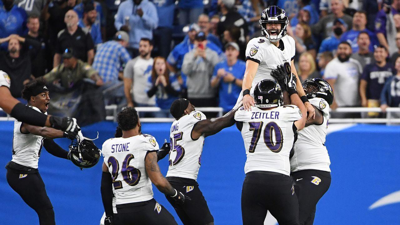 3. Spieltag - Justin Tucker (Baltimore Ravens) - Bildquelle: 2021 Getty Images