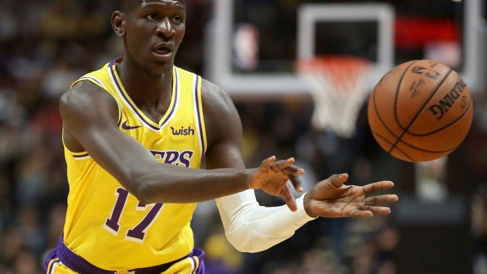NBA-Debüt: Isaac Bonga - Bildquelle: GETTY IMAGES NORTH AMERICAGETTY IMAGES NORTH AMERICASIDSean M. Haffey