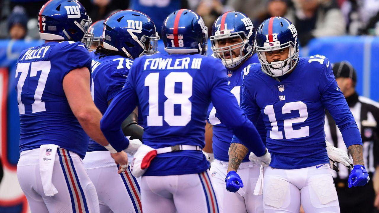 New York Giants - Bildquelle: 2018 Getty Images