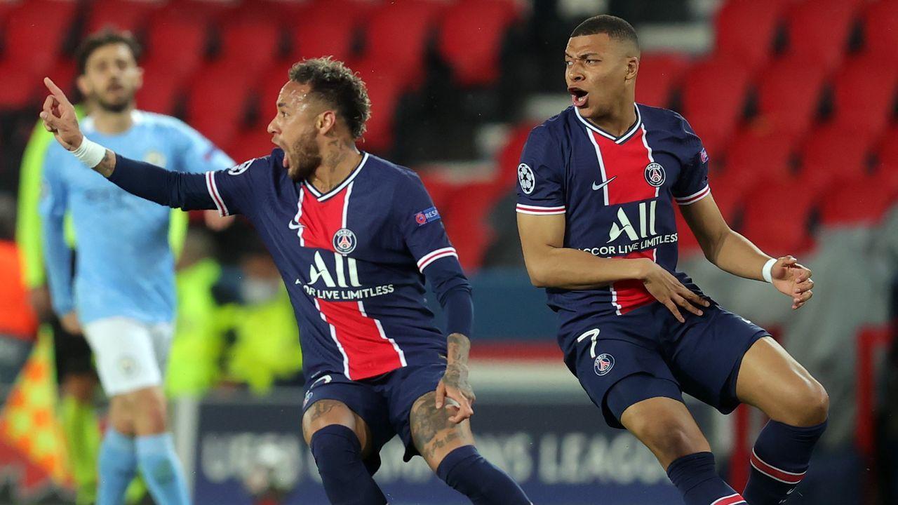 Platz vier: Paris Saint-Germain - Bildquelle: 2021 Getty Images