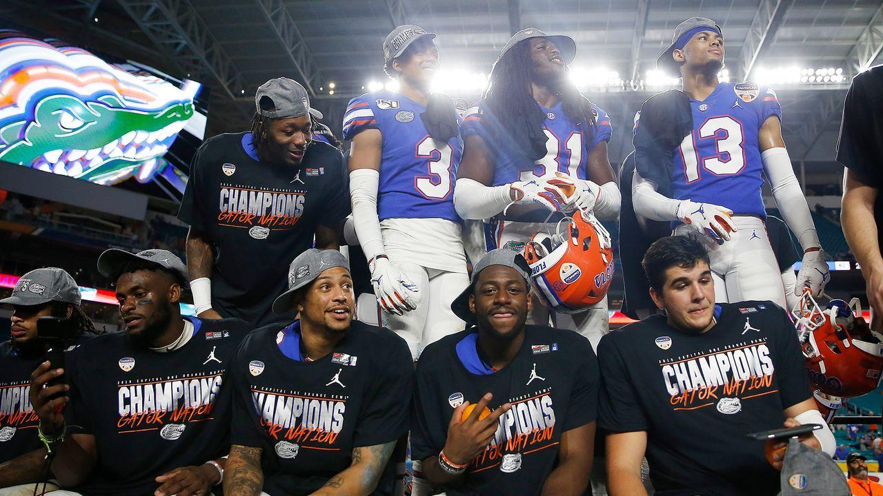 """""""Diversity"""" wird groß geschrieben bei den Gators - Bildquelle: 2019 Getty Images"""